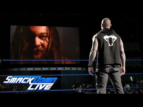Bray Wyatt baptizes himself in the ashes...