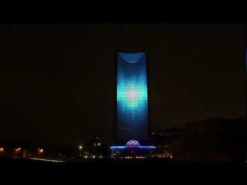 Nokia Lumia & Deadmau5 Live 4D Projection (HD)