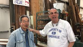 Jim Vo @ Lakewood - Located in Hall F in the Middle. Great Deal On Wood, Fencing, & Cast Iron!