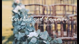 WENTE VINEYARDS | WEDDING VIDEO | CAROLINE AND CAMERON LOVE