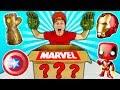 Gambar cover O Que Tem Na Caixa Misteriosa de Super Heróis ? 📦☆ MARVEL e VINGADORES ULTIMATO THANOS ☆