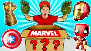 O QUE TEM NA CAIXA MISTERIOSA DE SUPER HERÓIS ? 📦☆ MARVEL e DC ☆