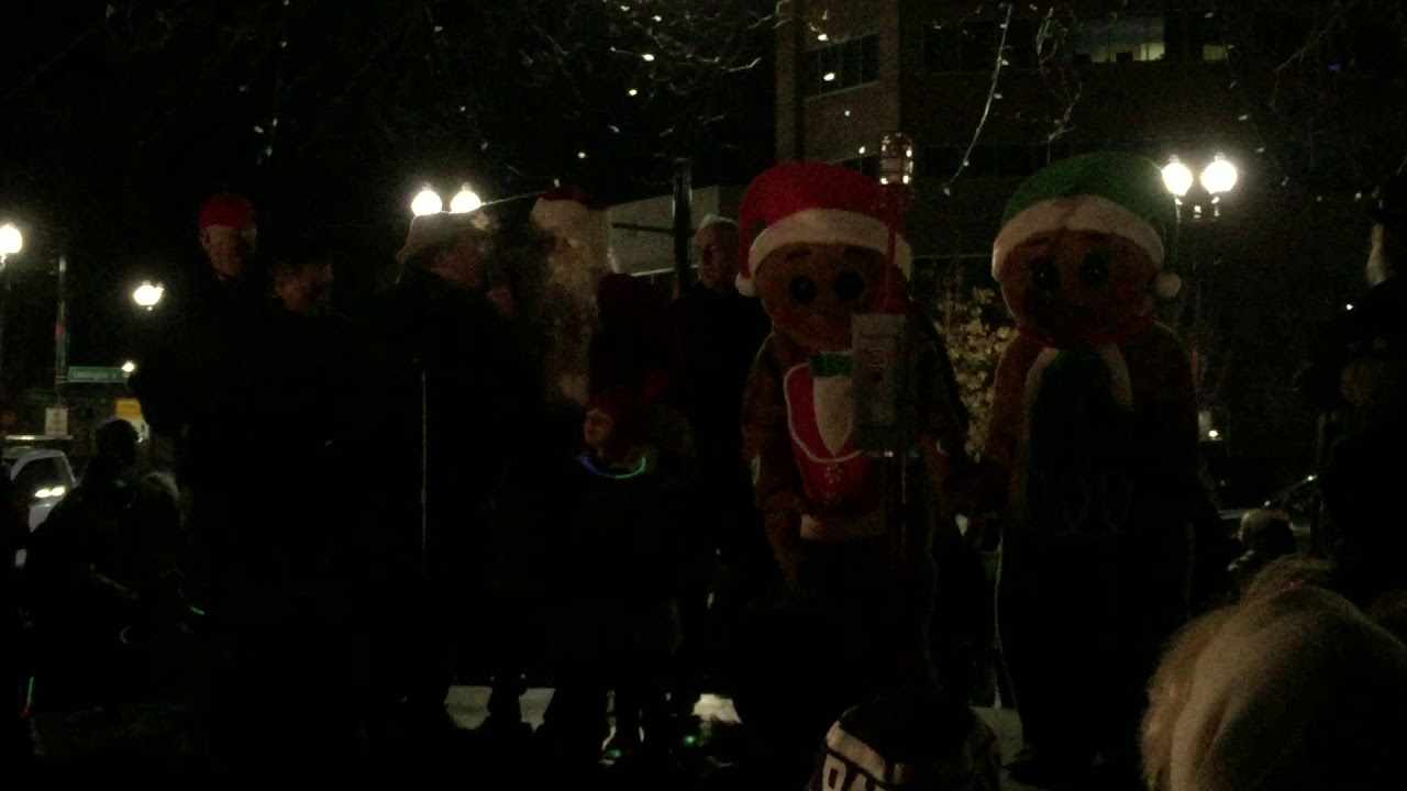 Quincy Christmas tree lighting & Quincy Christmas tree lighting - YouTube azcodes.com
