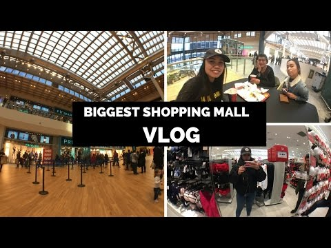 BIGGEST SHOPPING MALL IN ITALY | vlog #9
