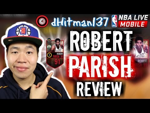 Legend Robert Parish Review  Boxout Beast    Nba Live Mobile Gameplay