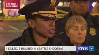 Police say the deadly downtown Seattle shooting was not a random incident