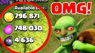 CLASH OF CLANS - *How To Do Barch Attack And Get Amazing Loot *