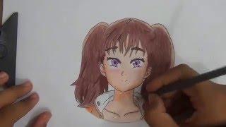 Drawing Diane (Nanatsu no Taizai)