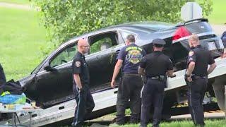 Police: Mom drives into Michigan river; 3 dead