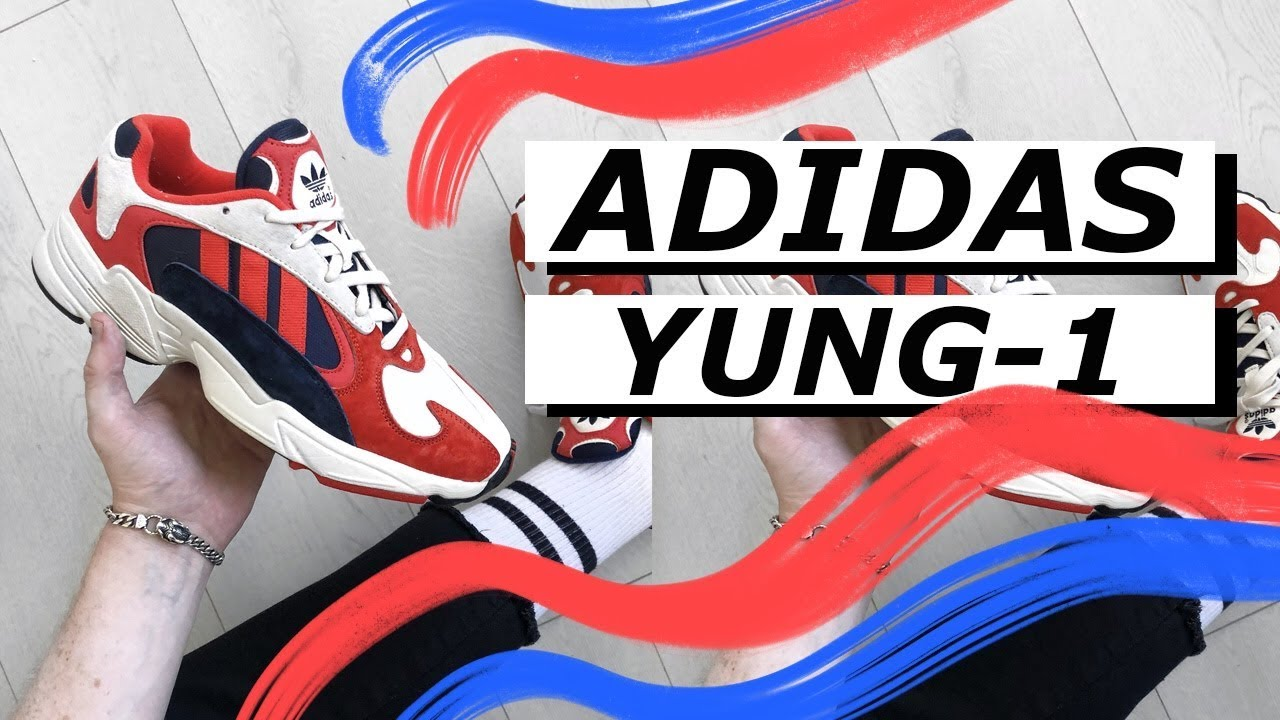 low priced fd295 d3eb9 Adidas Yung-1 Review and On Feet   Gallucks