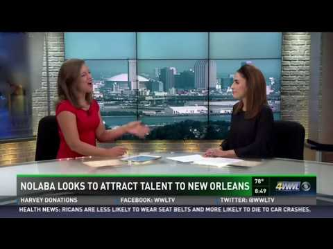 New Orleans Business Alliance WWL-TV Morning Show September 23, 2017