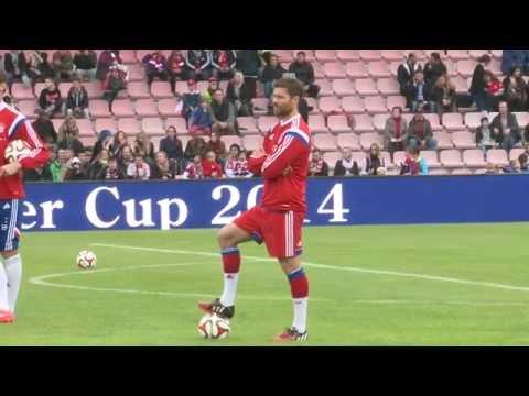 FC Bayern - Spanier beeindruckt: Da staunte Xabi Alonso nicht schlecht