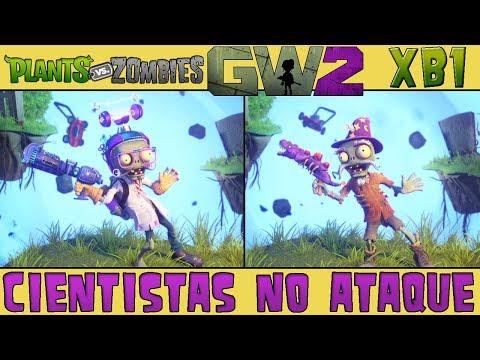 Plants vs. Zombies Garden Warfare 2 - Revezamento - Cientistas no Ataque