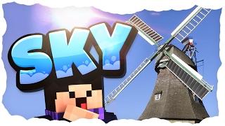 Wasserrad und Windmühle! | 05 | MINECRAFT SKY