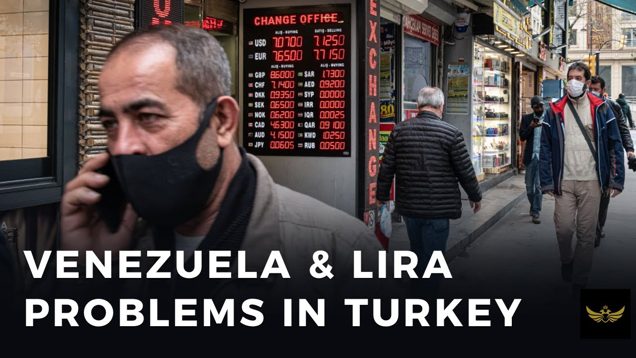 Venezuela and Lira problems in Turkey (Before the video)