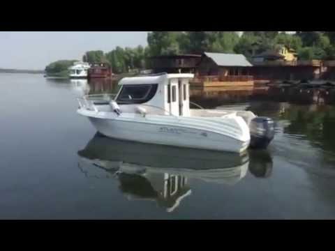 Atlantic Marine Adventure 660 +yamaha115 Вид снаружи