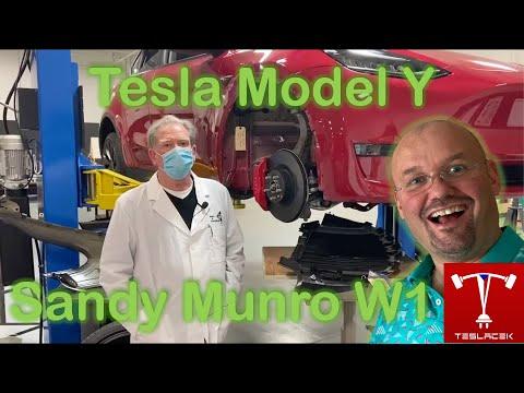 #159 Tesla Model Y Sandy Munro W1 | Teslacek