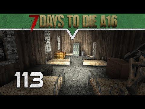 Nochmal ins Militärlager ★ 7 Days to Die Alpha16  Deutsch #113 ★ Gameplay German