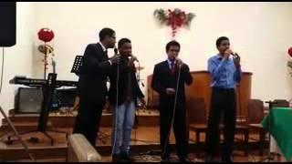 Quarteto Édrei - Louvai à Cristo