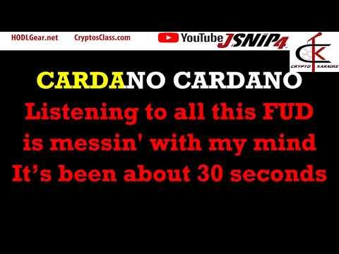 ToTo Rosanna Parody: Crypto - Cardano