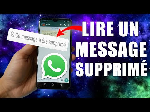 Lire un Message Supprimé sur WhatsApp !