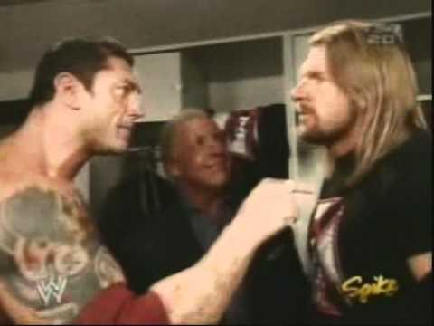 Evolution Backstage RAW December 2004