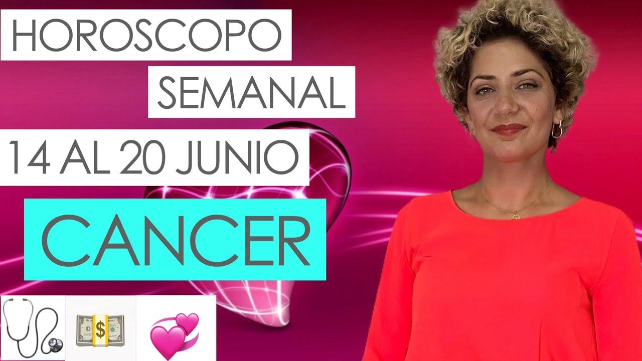 CANCER ♋ | HOROSCOPO SEMANAL | 14 AL 20 JUNIO | CARTA DEL ANGEL