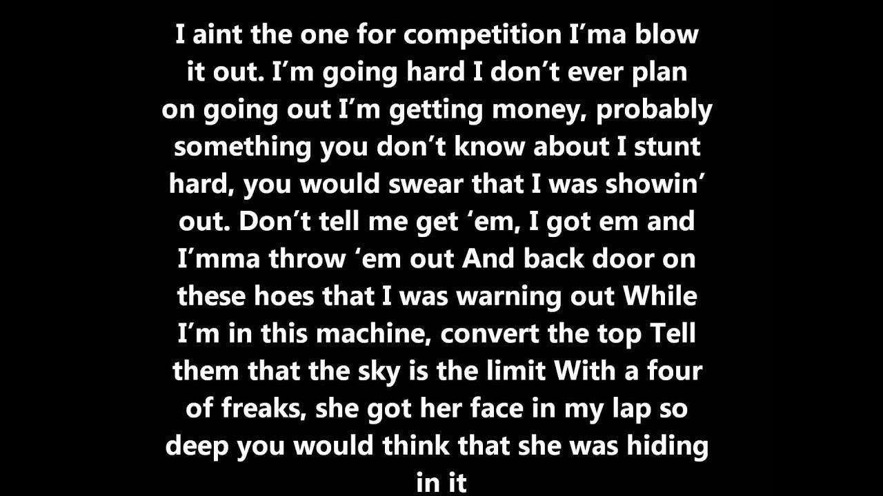 Wiz Khalifa Phone Numbers Lyrics - YouTube