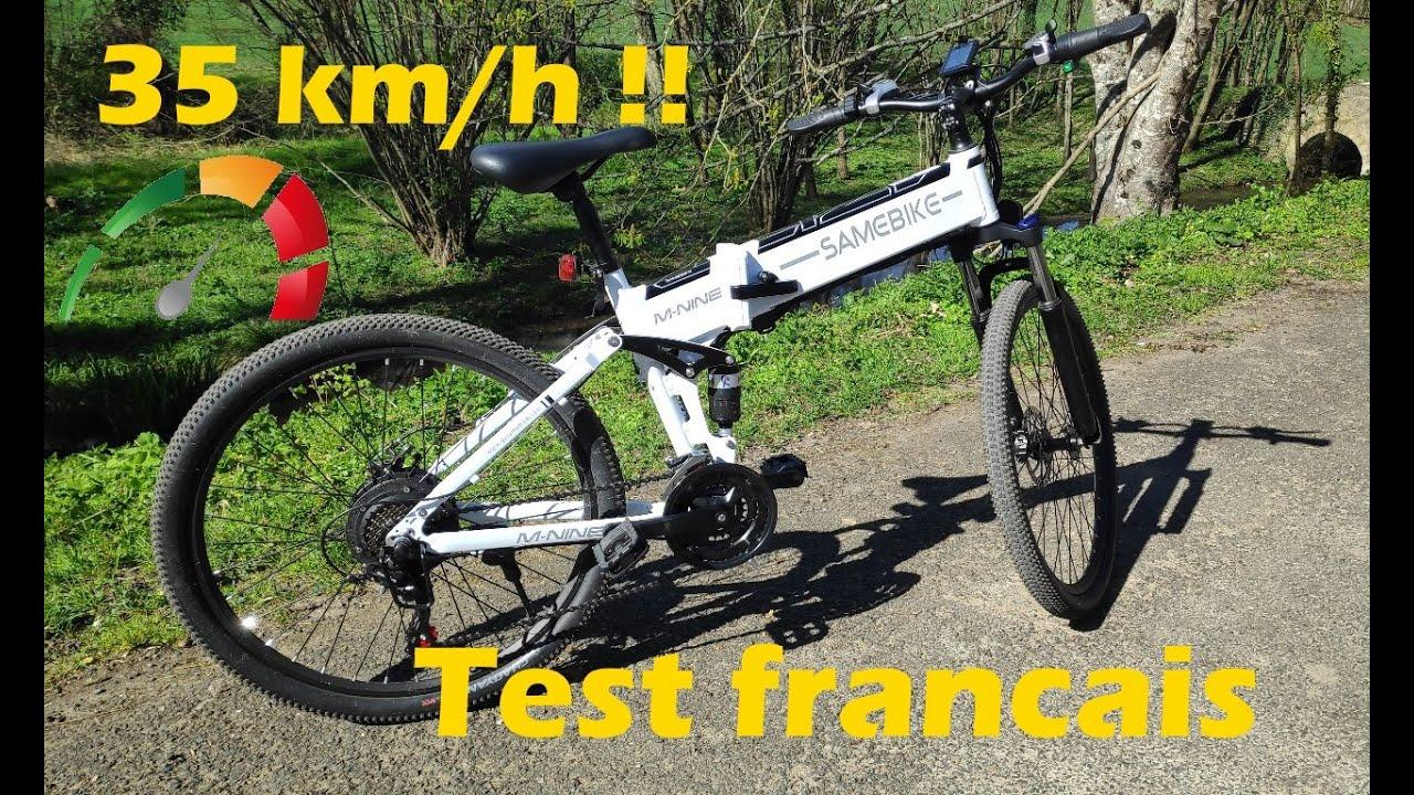 vélo électrique Samebike lo26 - 40km/h sans pédaler (partie 1)