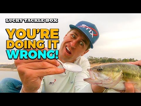 How To Fish A Spoon For Bass The Right Way