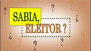 Eleitor: você sabe como um candidato se registra para disputar as Eleições? Para tirar essa e outras dúvidas sobre o processo eleitoral, iniciamos a série ...