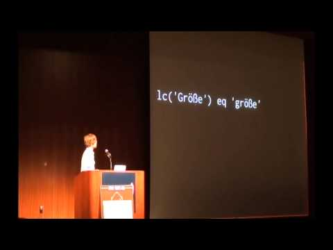 Nick Patch - Unicode Best Practices