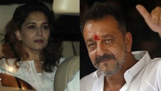 Sanajy Dutt Biopic : Madhuri Dixit Called Sanjay Dutt To Remove Bits About Their Rumoured Affair?