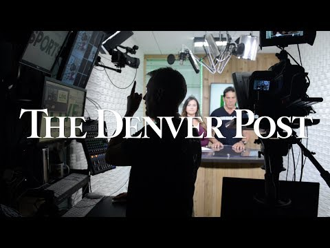 A behind the scenes look at the work of the Denver Post, 2017