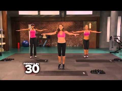 Mi rutina 30 Day Shred de Jillian Michael: nivel 1/Routine jillian michaels 30 day shred: level 1