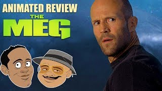 ANIMATED REVIEW - THE MEG - Double Toasted Reviews