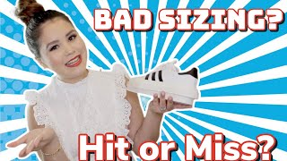 BEYONCE X ADIDAS 50 YEAR ANNIVERSARY SUPERSTARS | ARE THEY REALLY THAT BAD?