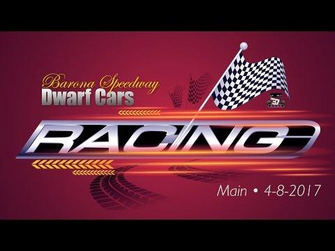 Barona Speedway Dwarf Car Heat 1 • 4-8-2017