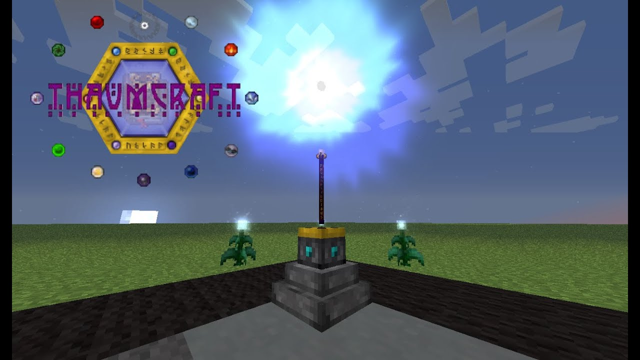 The wand - Void Aspected Primal Staff | Thaumcraft Bugs | Dr Mods