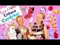 UNICORN CANDY BAR selber machen   Eva & Kathis Einhorn DIY Süßigkeiten Bar für Partys & Geburtstag