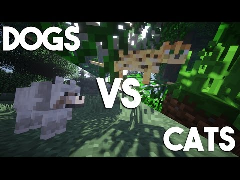 CATS VS DOGS in Minecraft!