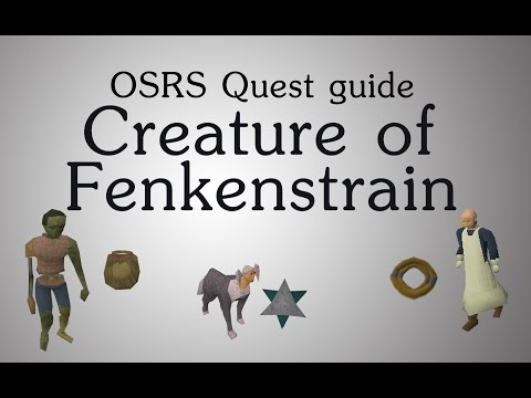 OSRS] Creature of Fenkenstrain quest guide - YouTube