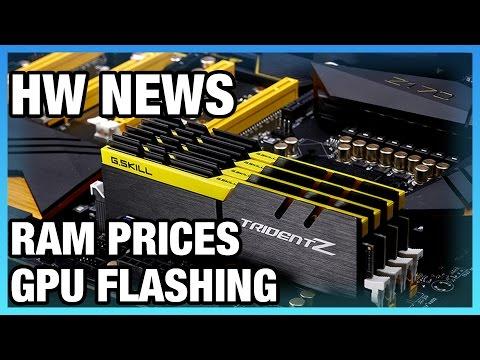 HW News: RAM Prices Will Rise Through 2017, mITX AM4