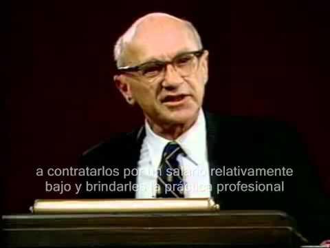 Milton Friedman - La responsabilidad para el Pobre