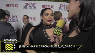 "Netflix's ""On My Block"" Interview with Jessica Marie Garcia"