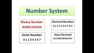 What is number system and how computer work with binary language