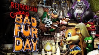 Retro Reseña: Conker´s Bad Fur Day (El Alvin grosero)