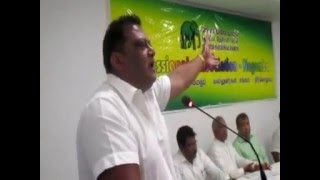 Royce Wijitha Fernando During The Conference of Professional Association of UNP - Negombo  [22/1/16]