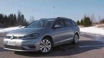 Testissä Volkswagen Golf TGI -kaasuauto (Teknavi 2018)