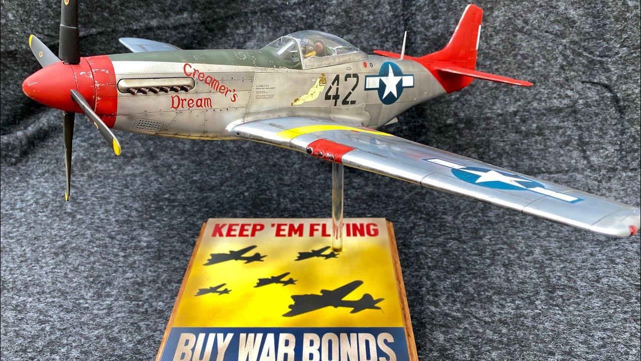 Airfix 1/24 Scale P-51 D Build Finale